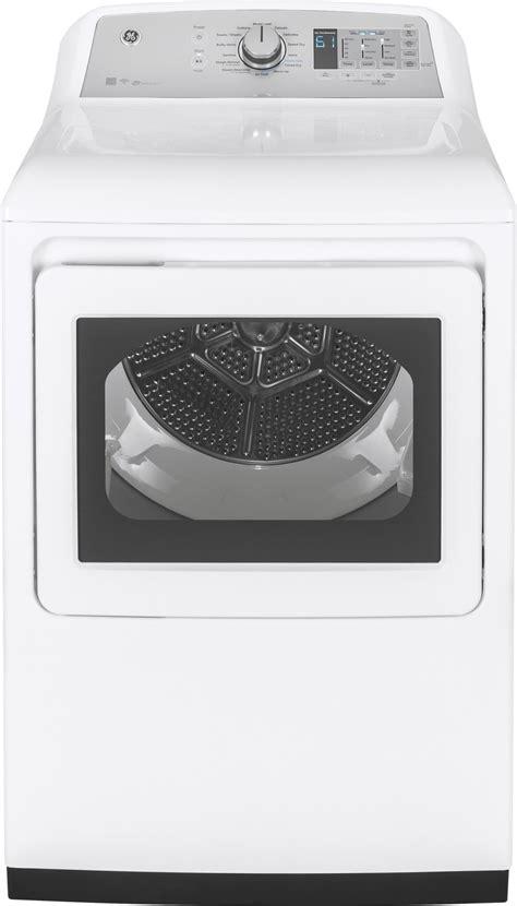 gtdecslws ge  electric dryer  steam white
