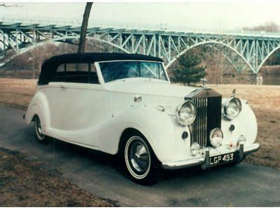 Classic Limo Rental by Classic Car Rental Connection 1950 Rolls Royce