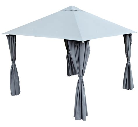 blooma shamal grey gazebo departments diy  bq