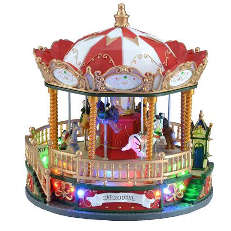 christmas carousel decoration billingsblessingbagsorg