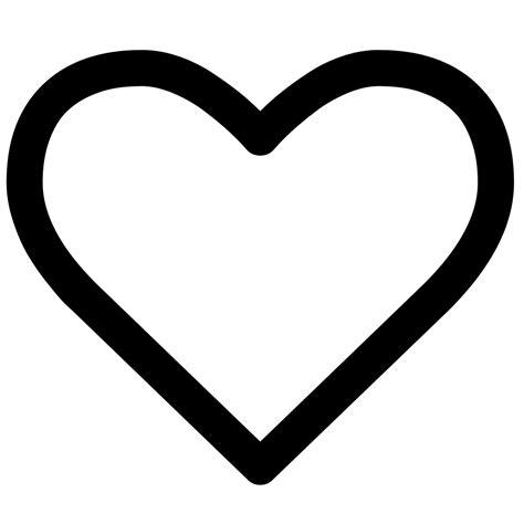 fileheart empty font awesomesvg wikimedia commons