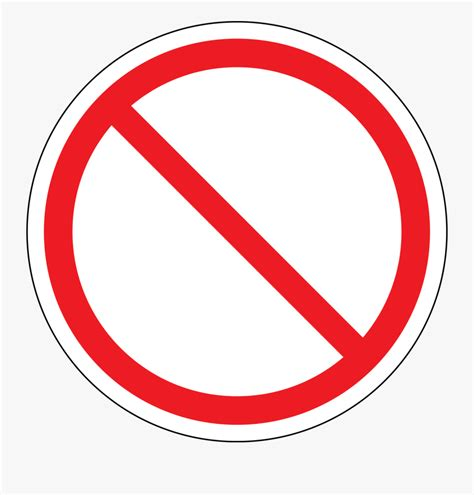 No Smoking Red Circle Free Transparent Clipart Clipartkey