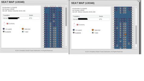 boeing 737 300 plan si鑒es mapas de asientos de air europa seatmaestro es