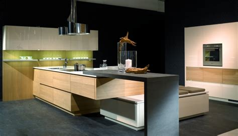 cuisiniste de luxe cuisine haut de gamme alno vetrina sans poignees