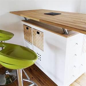 Bar Meuble Ikea : et ailleurs ilot bar de cuisine au 303 home deco ~ Teatrodelosmanantiales.com Idées de Décoration