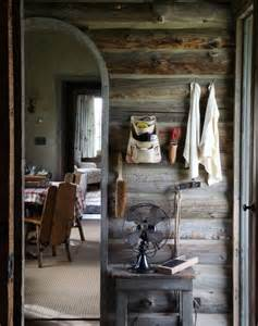 Rustic Mountain Cabin Interiors