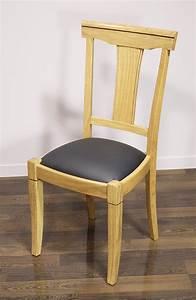 Chaise Chene Massif : chaise mia en ch ne massif de style louis philippe meuble en ch ne ~ Teatrodelosmanantiales.com Idées de Décoration