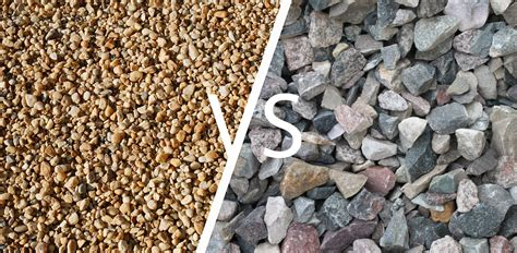 crushed vs pea gravel what s the difference