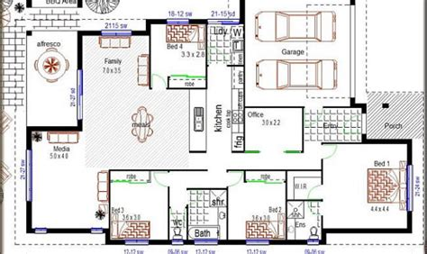 simple story house pictures placement simple affordable 4 bedroom house plans placement home