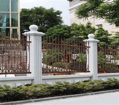modern cast aluminum fence decorative metal garden