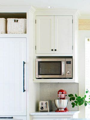 kitchen cabinet with microwave shelf 10 country kitchen decorating ideas kitchen 7980