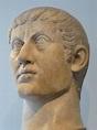 Portrait head of the Roman Emperor Constantine I 325 370 C ...