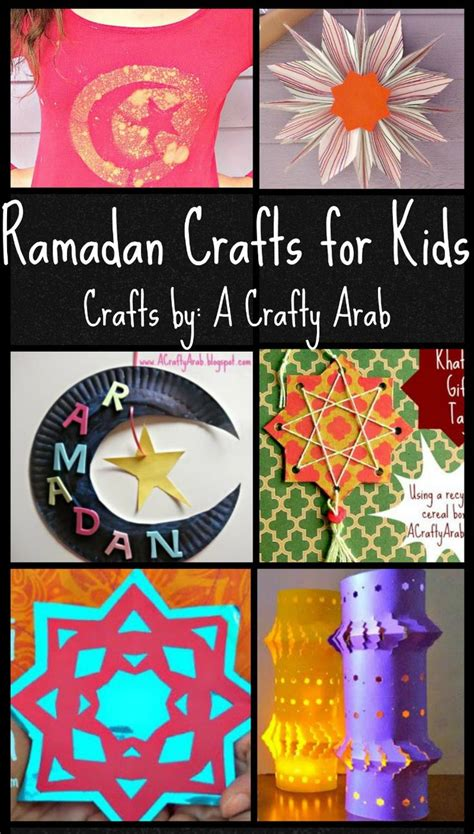 ramadan crafts  kids   crafty arab crafts