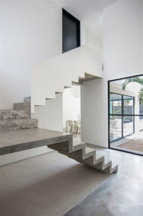 beton cire escalier interieur int 233 rieur en b 233 ton d 233 coratif nos conseils