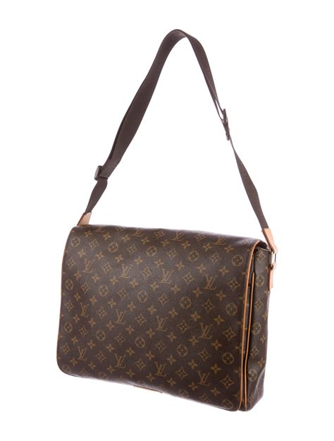 louis vuitton monogram abbesses messenger bag bags