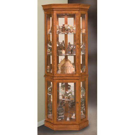 oak curio cabinets for philip reinisch lighthouse classic oak corner curio