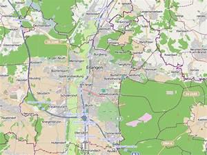 Möbelhäuser Nürnberg Und Umgebung : erlangen und umgebung karte creactie ~ Markanthonyermac.com Haus und Dekorationen