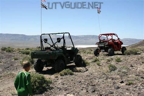 Polaris Rzr Vs Kawasaki Teryx by The Dunes At Sand Mountain Utv Guide