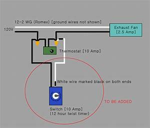 Attic Fan Thermostat Wiring Diagram  U2022 Attic Ideas