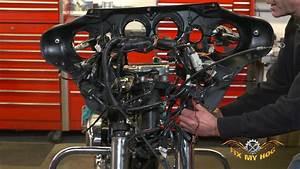 Harley Inner Fairing Removal  Part 2