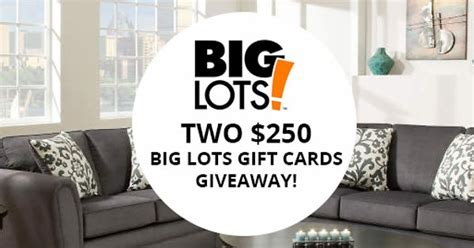 big lots card 250 big lots gift card giveaway from dealsplus
