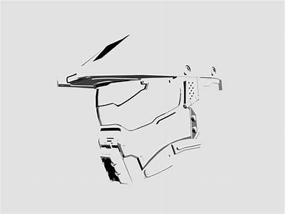 Chief Master Minimal Tattoo Halo Helmet Dribbble