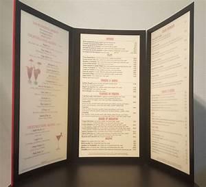 Protege Menu Restaurant : protege menu rectangle souple 3 volets pochettes brasserie ~ Teatrodelosmanantiales.com Idées de Décoration
