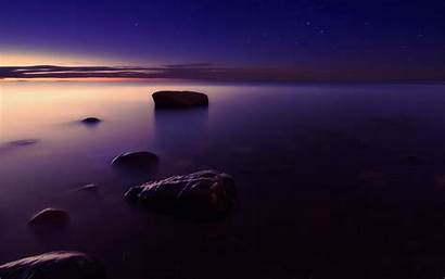 Tablet Foggy Shore Wallpapers Sunset Lomo Pc