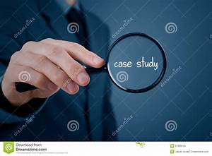 Case study stock image. Image of enlarge, hand, online ...