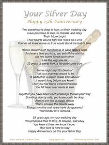 25th wedding anniversary quotes quotesgram With 25th wedding anniversary poems