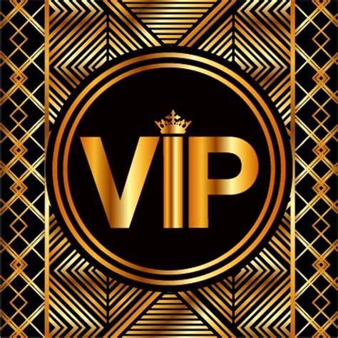 Luxury Golden Vip Background Vectors Free Vector In