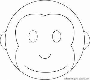 Monkey cake template birthday ideas pinterest for Curious george cake template