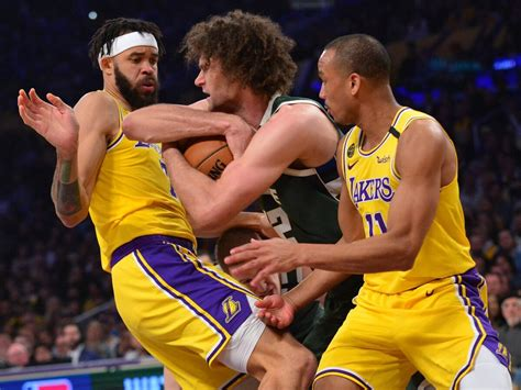 JaVale McGee and Avery Bradley