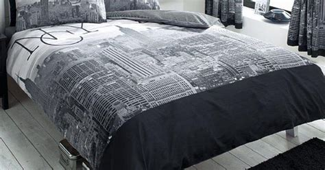 total fab new york city skyline bedding nyc themed