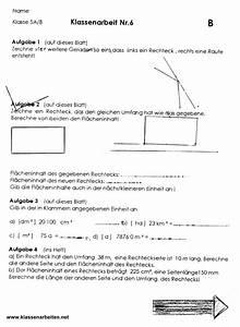 Flächeninhalte Berechnen Klasse 5 : geometrische figuren klasse 5 ~ Themetempest.com Abrechnung