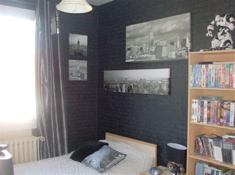 chambre gris noir davaus peinture gris chambre ado avec des idées