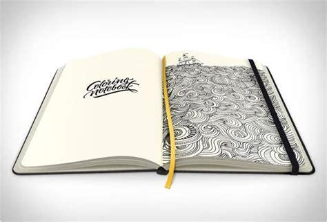 coloring notebook caderno  colorir