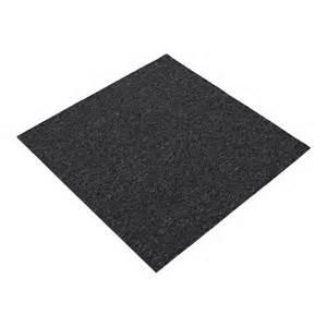 standard carpets 500 x 500mm charcoal polypropylene carpet tile