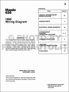 198mazda 626 Wiring Diagram Original