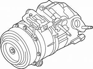 Lincoln Mkx A  C Compressor  Liter  Repair  Assy