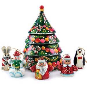 nesting doll w christmas tree ornament set product sku s 110614