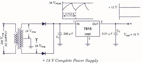 fixed positive voltage regulators electronic circuits