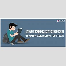 Cat Reading Comprehension  Rc Questions For Cat 2018