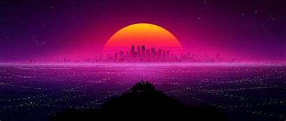 Retro Resolution Wallpapers Showtime 4k Sunset Published
