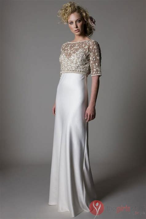 champagne wedding dresses  mature brides images