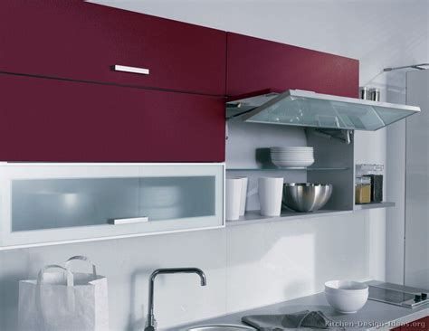 #kitchen Idea Of The Day Red Kitchen (by Alno, Ag) With