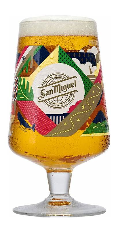Miguel San Chalice Limited Glass Tropico Years