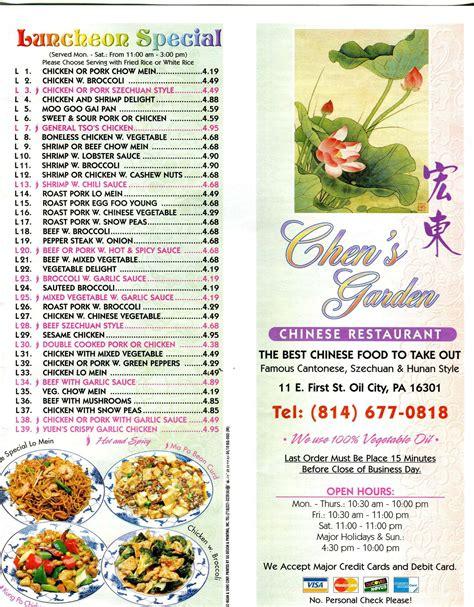 chen garden menu chen s garden number fasci garden