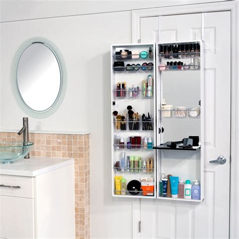 lifestyle home the door bath organizer the best makeup organizers thefashionspot