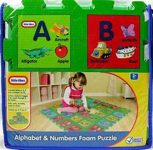 little tikes alphabet and numbers foam mat With little tikes foam letters and numbers